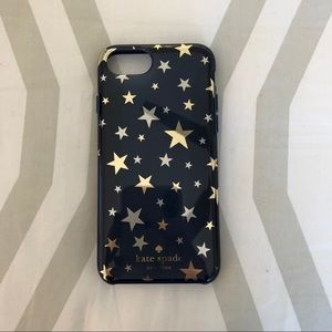 Navy and stars Kate Spade IPhone 7/8 case